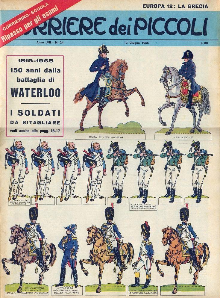 Corrierino e Giornalino: I soldati di Waterloo