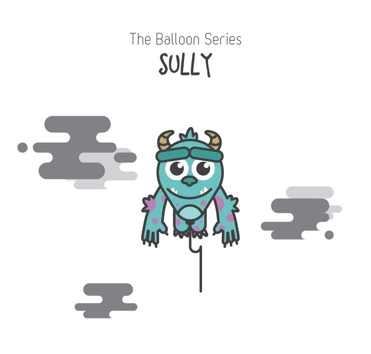 The Balloon Series - Sully