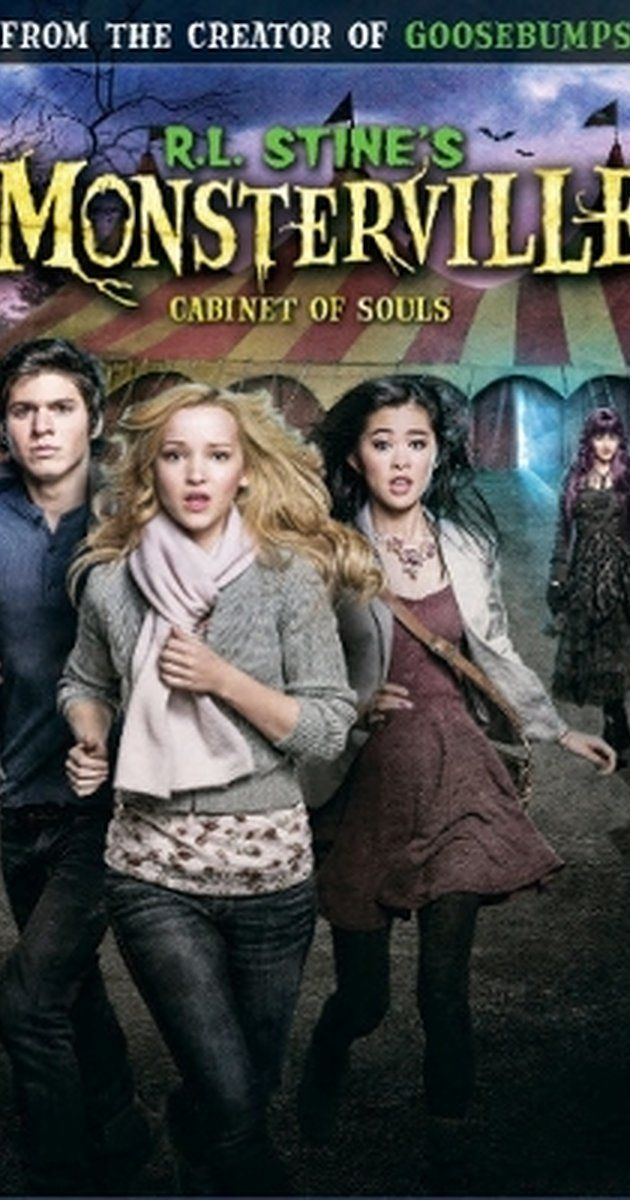 R.L. Stine's Monsterville: The Cabinet of Souls (TV Movie 2015)