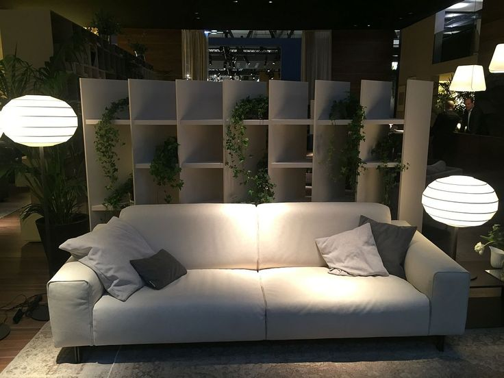 Relaxing contemporary couch in white from Chateau d'Ax
