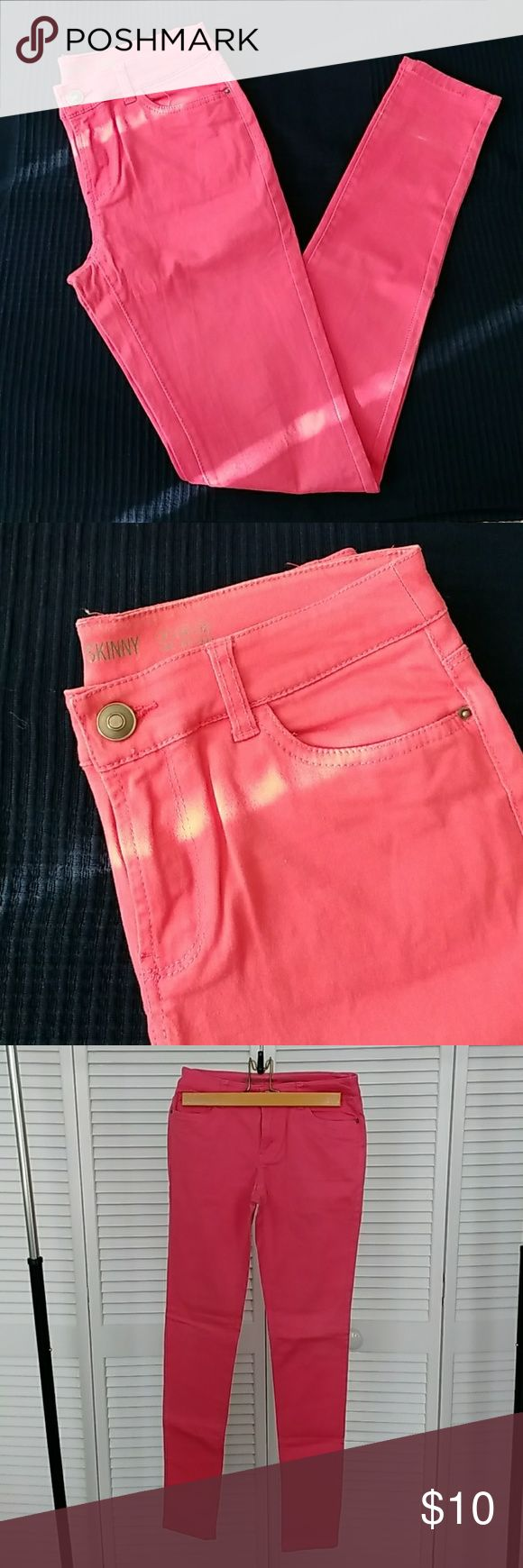 Coloured skinny jeans Skinny jeans in a colour between red and pink primark Jeans Skinny