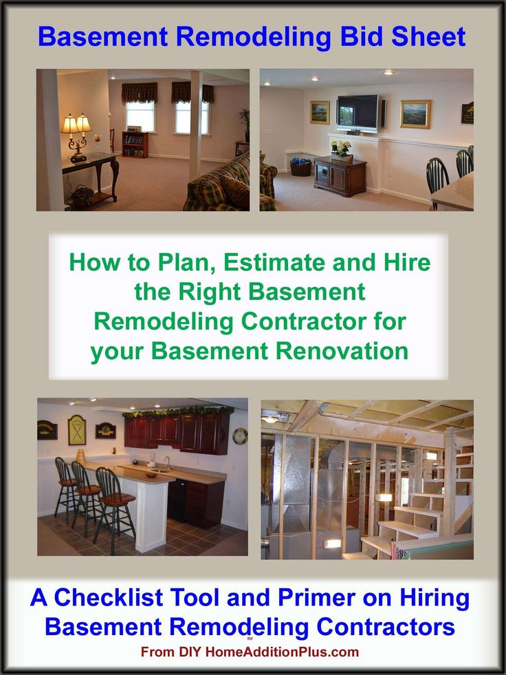 Basement Remodeling Contractors would you like to develop your own basement remodeling