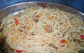 Espaguetis con verduras de huerto del monasterio favorito de Rajoy | Alfa y Omega