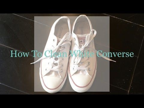 4 Ways to Clean White Converse - wikiHow