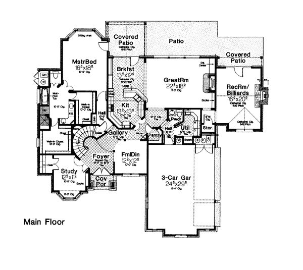 1000 Images About Home Plans On Pinterest French