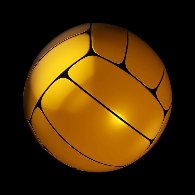 3d Gold Sport Ball Sports Sport Football Soccer Volley Sports Balls Ball Clip Art