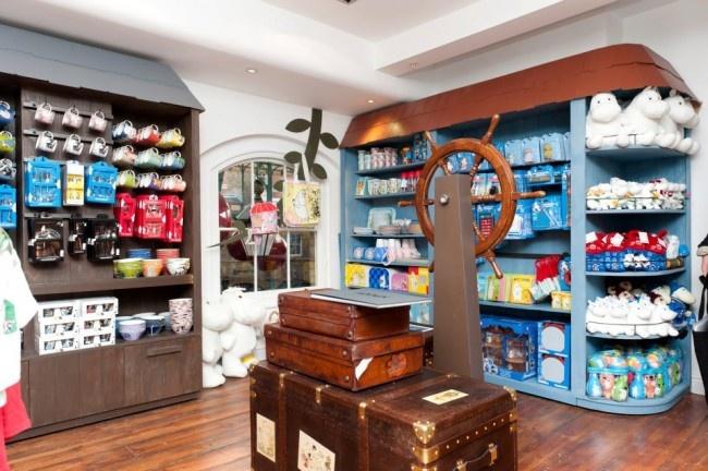 The Moomin Shop, Covent Garden, London