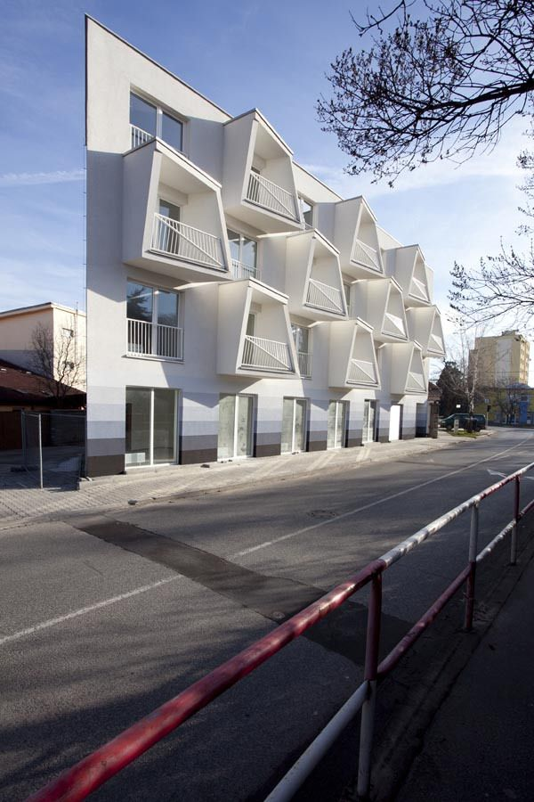 North Star Apartments in Senec, Slovakia by Nice Architects | Posted by CJWHO.com