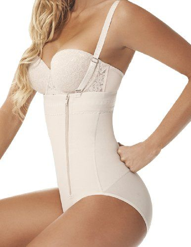 Ann Chery 1043 Womens Strapless Powernet Shapewear Fiorell XXLarge Beige * Continue to the product at the image link.