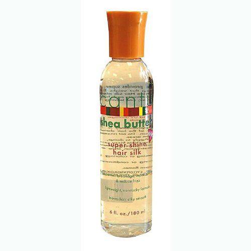 Cantu Shea Butter Super Shine Hair Silk 6 Ounce