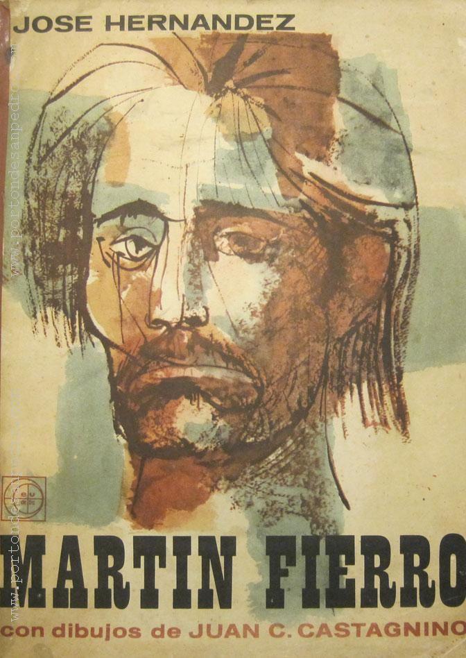 En biblioteca. Edición de la Editorial EUDEBA con ilustraciones de Juan C. Castagnino.