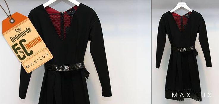 Maxilux askılarından, dolabınıza girmesi gereken sezonun en şık elbiseleri şimdi %50 indirim ile Maxilux'te! #Maxilux #Giyim #Moda #Marka #Fashion #Brand