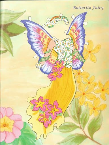 Fairy Paper Doll 09