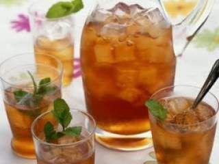 Chá Refrescante de Verão