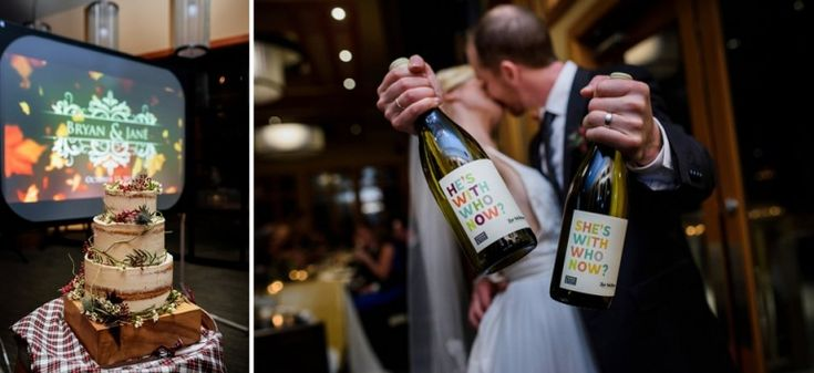 Photos by FunkyTown Photography. Church and State wines wedding photography