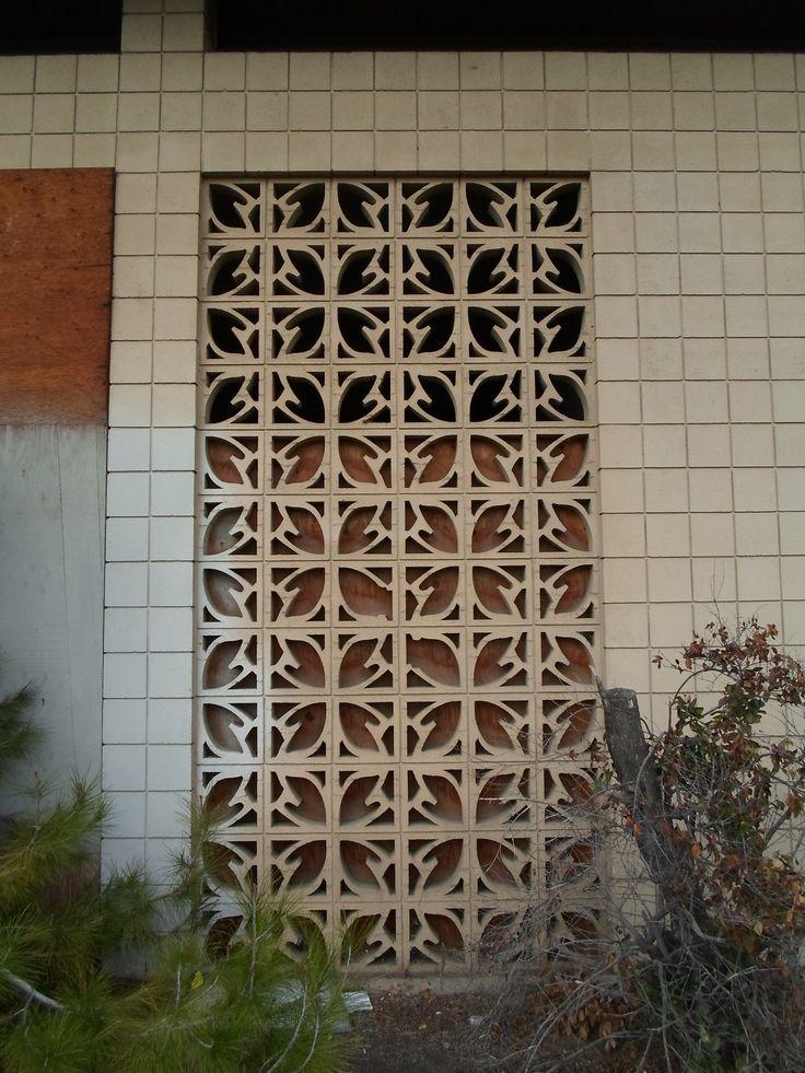 Decorative Brick Walls : Best images about decorative concrete block on