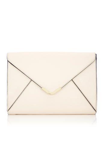 Nude Envelope Clutch Bag  #wallis #dress