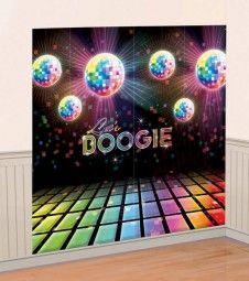 """Wandbilder """"Disco Fever 70er Jahre"""" - 83 x 165 cm - 2 Stück"""