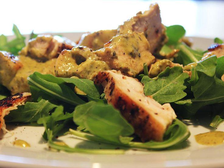 Pesto+Chicken+Salad