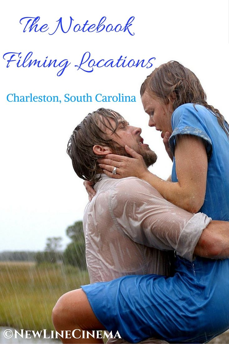 The Notebook, Nicholas Sparks ultimate love story is found right here in Charleston. Re-live the film when you visit.