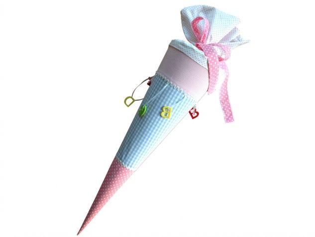 Zuckertüte Schültüte *Bunte Buchstaben* personalisierbar