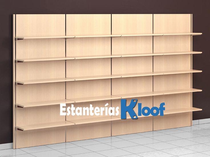 Estanterías Kloof | Estanterías para estancos, papelerías, librerías, textil, multimedia