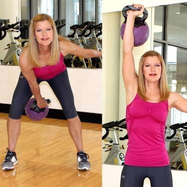 """9 Best Kettlebell Exercises.~~""""The snatch is my favorite kettlebell exercise, because it's a multi-jointed, functional move that u... - The Best Kettlebell Moves"""