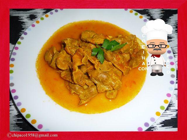 Cocina con Paco: Mollejas de pollo en salsa