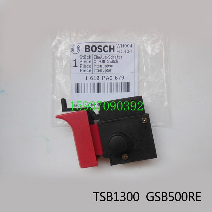 14.77$  Watch here - http://ali3dt.shopchina.info/1/go.php?t=32728127141 - Free shipping!  Original Electric hammer Drill Speed Control Switch for bosch TSB1300/GSB500RE,Power Tool Accessories  #buychinaproducts