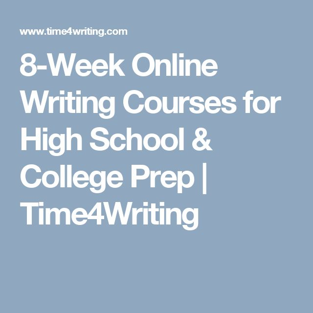 online college writing courses The free test drive feature breaks down the entire learning experience, from understanding the online student portal, to taking an online course, to completing assignments, and more explore a bachelor's degree in writing.