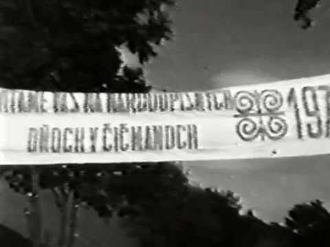 ČIČMANY 1972 časť druhá - YouTube