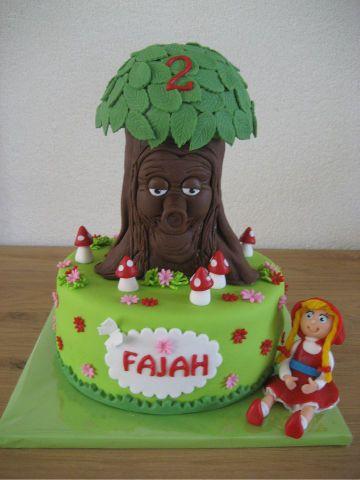 Afbeeldingsresultaat voor cake efteling draak