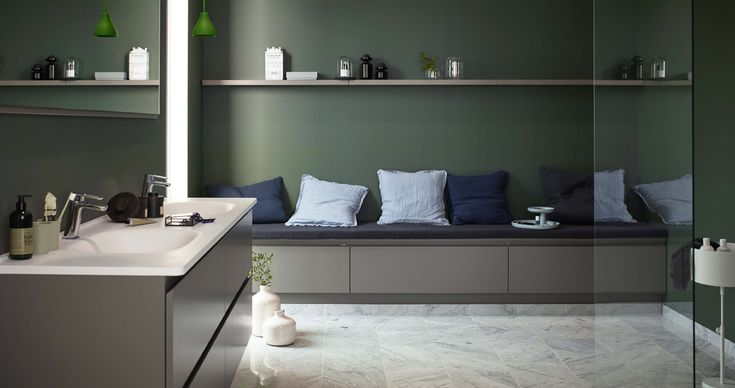 Trendigt och modernt – Nytt kök badrum och tvättstuga - Vedum kök och bad AB