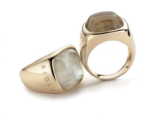 Het Belgisch-Italiaanse designermerk Gianfranco Bigli bewijst dat kostbare juwelen ook heel modieus kunnen zijn. Elk seizoen lanceren ze een collectie met kleurige creaties waar je instant vrolijk van wordt.