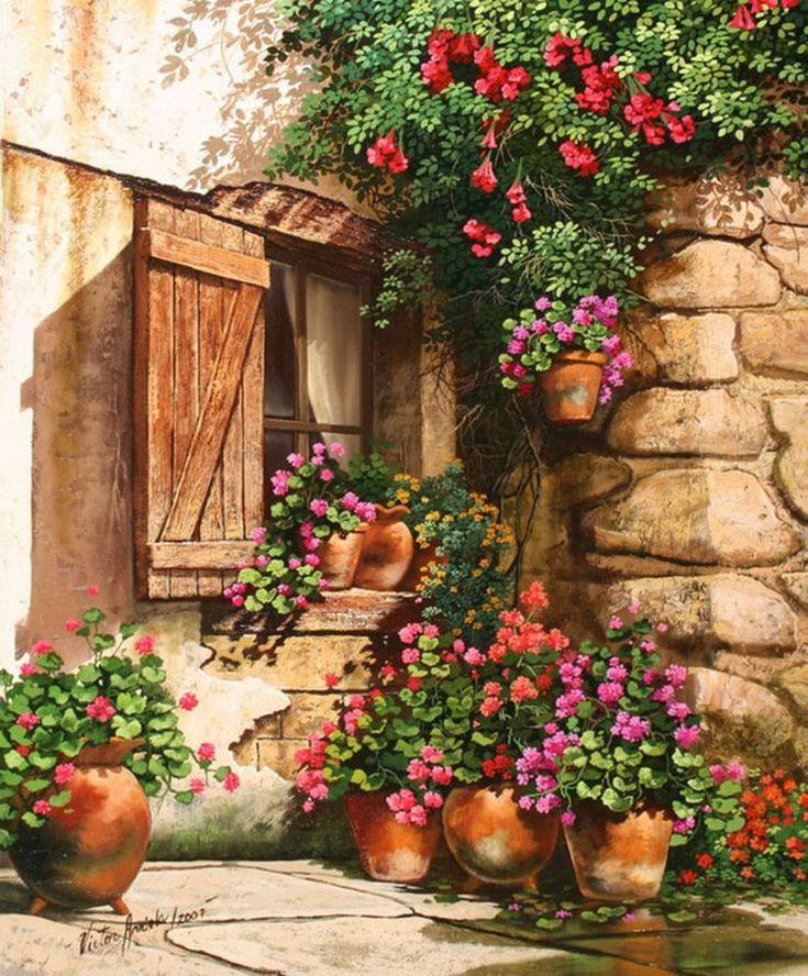 Ах, эти тихие, уютные дворики.../ Victor Arriola. Обсуждение на LiveInternet - Российский Сервис Онлайн-Дневников