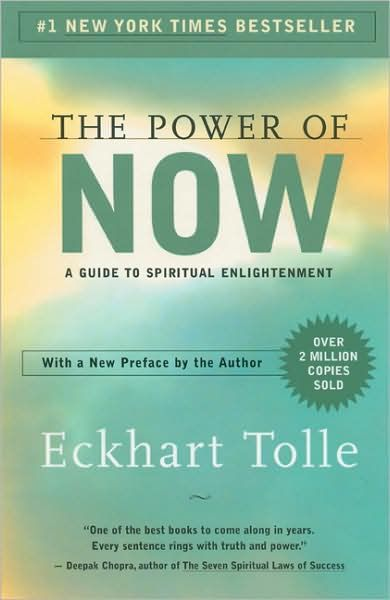 The Power of Now: A Guide to Spiritual Enlightenment.   My #1 book of all time. Better than A New Earth that followed this one, in my opinion.  This book should be HEARD (on audio)....its very powerful.