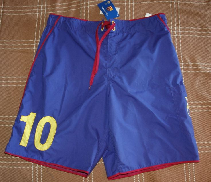 FCB Men's Barcelona Shorts (Soccer) Blue Sz 32 $45 NWT #FCB #Shorts