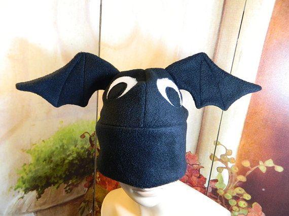 Bat Cap black eyes Gothic Anime Kawaii Punk Rock Costume