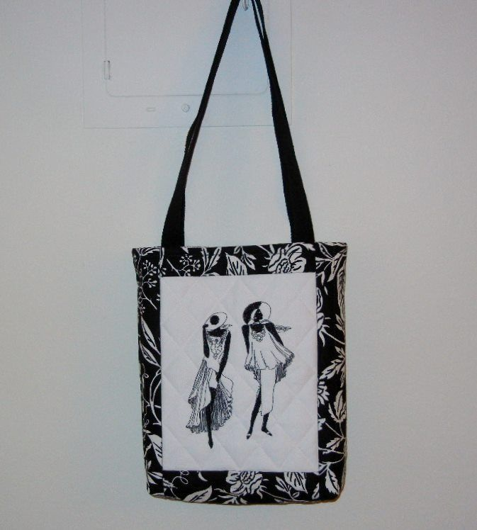 NEW Fashion Ladies tote bag .. elegant and practical.  Size - 11L x 13H inches.