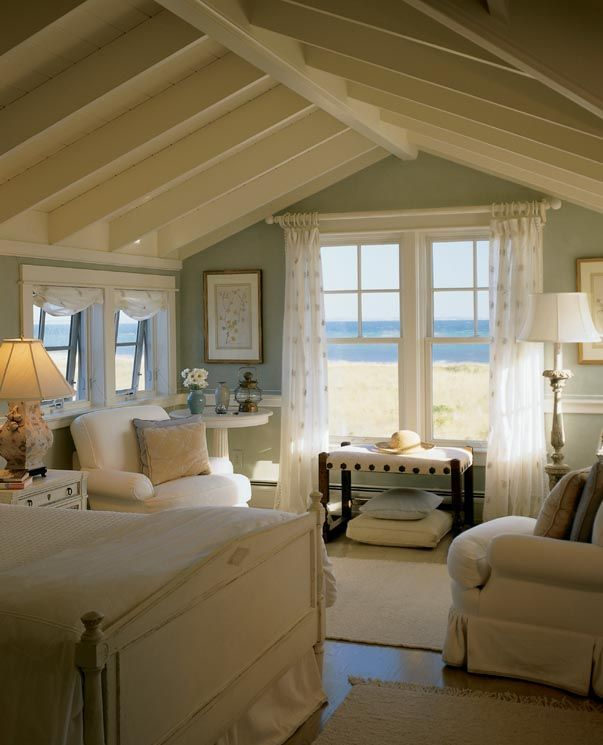 25 best ideas about beach cottage bedrooms on pinterest for Cape cod decor