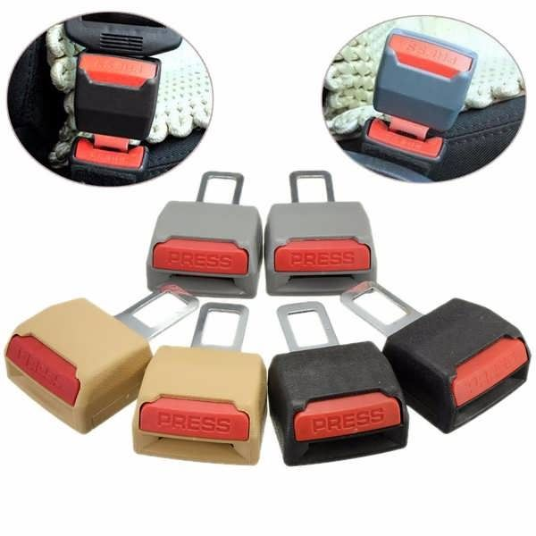 1 Pair Universal Replacement Car Safety Seat Belt Extender Support Clip Buckle  Worldwide delivery. Original best quality product for 70% of it's real price. Buying this product is extra profitable, because we have good production source. 1 day products dispatch from warehouse. Fast &...