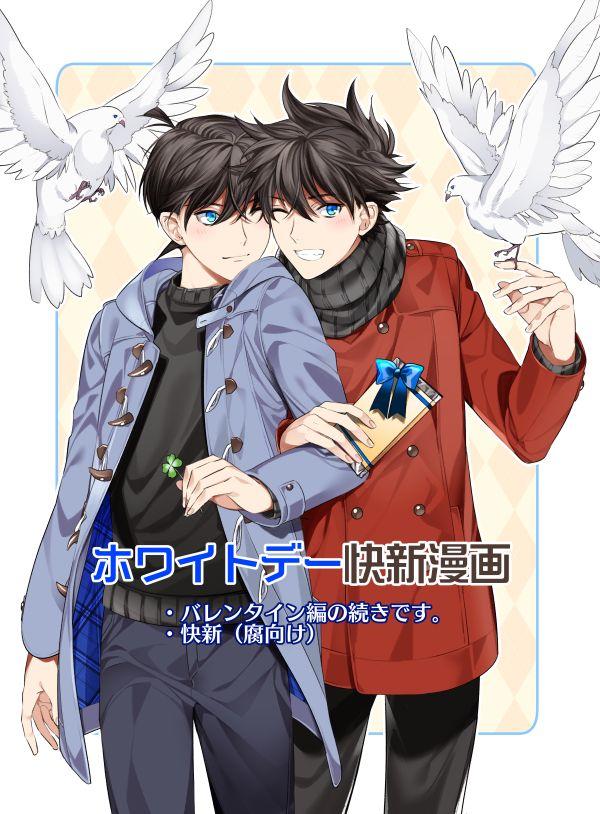 Detective Conan   Kaito and Shinichi