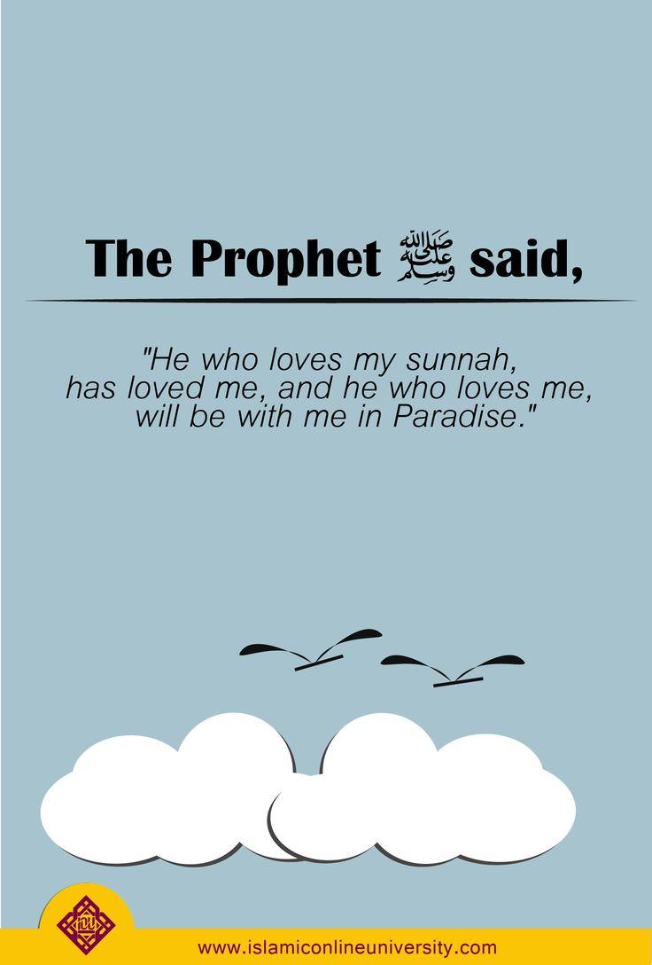 Follow the Sunnah!
