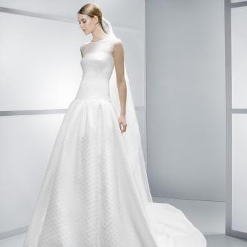 Jaro 2014 Lodičkový výstřih Spuštený Levné svatební šaty