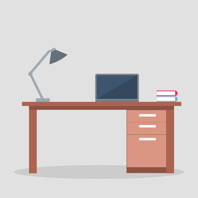 Gambar Belajar Meja Dengan Lampu Dan Laptop Tv Mudah Alih Komputer Riba Png Dan Vektor Untuk Muat Turun Percuma Di 2020 Lampu Belajar Meja