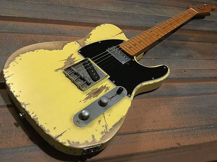 Relic Tele Electric Guitar with Epiphone and Fender Standard Telecaster Pickups  #CustombyNatesRelicGuitars