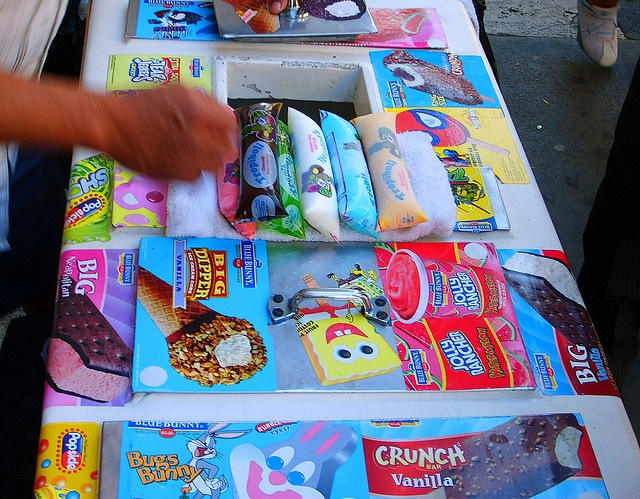 97 best images about ice cream truck on pinterest for Fish on fire menu