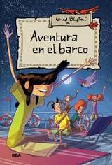 """""""Aventura en el barco"""" de Enid Blyton. Título seleccionado en la Guía de Lectura Infantil y Juvenil sobre Transportes"""