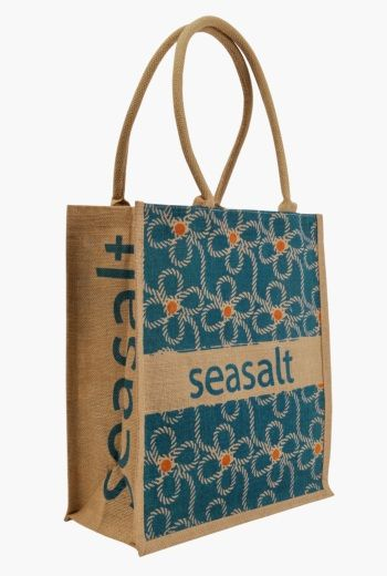 Jute Shopper | As well as being a really good alternative to disposable carrier bags, they're a brilliant and re-useable wrap for presents