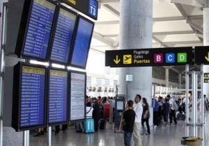 Malaga Airport Passenger Numbers Up in August